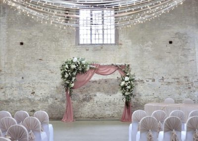Calke Abbey Wedding Rustic Backdrop