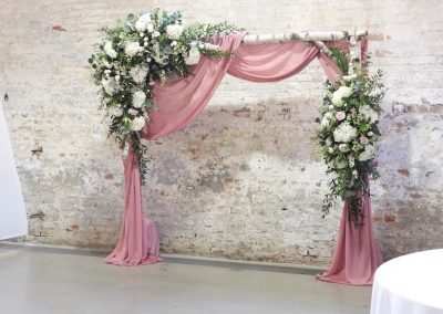 silver birch rustic arch calke abbey recommended supplier